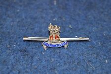 Lovely Rare Sterling Silver Sweetheart ''Fide Et Fiducia'' Pin Badge RDL6286