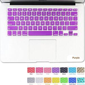 "Silicone Keyboard Skin Cover Film For Apple Macbook Pro 13"" 15"" Retina Air 11"" B"