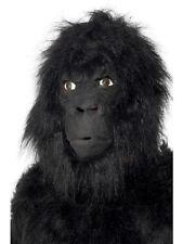 Maschera Carnevale Gorilla King kong Scimmia animale Accessorio Smiffys *12205