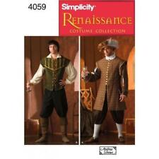 Simplicity Uncut Male Sewing Patterns