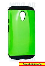 Funda / Carcasa Motorola Moto G2 - XT1068 antigolpes tipo slim armor verde