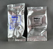 DELL SERIES 7 (1 x BLACK DH828 / 1 x COLOUR DH829) INK CARTRIDGES - GENUINE DELL