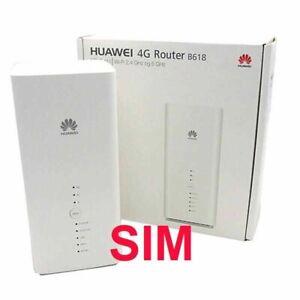 B618s-22d Huawei 4G+ LTE speeds up to 600 Mbps Unlocked international FirmWare