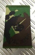 Genuine British Army Royal Irish Woodland Camo Major Rank Slide / Epaulette
