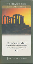 From Yao to Mao 5000 Years of Chinese History the Great Courses DVD Set Book
