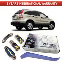 Honda CR-V III LED Interior Kit Full Premium 8 SMD White Error Free Bulbs CRV