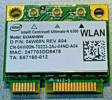 Qty (10) Dell WIFI Card 04W00N 4W00N Intel Centrino Ultimate N 6300 WLAN