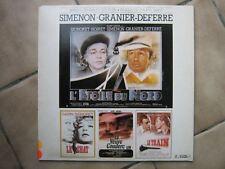 BOF SIMENON LP FRANCE ROMY SCHNEIDER ALAIN DELON GABIN