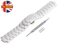For EMPORIO ARMANI AR1473 Ceramic White Full Strap/Band/Bracelet Watch 20mm