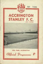 More details for 3.2.1962 accrington stanley v bradford city (last home issue), clean & rare!