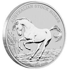 1 oz Silber Stock Horse 2017 - Australisches Pferd - Stempelglanz mit Zertifikat