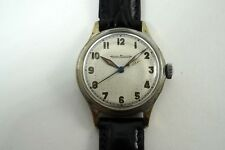 JAEGER LeCOULTRE MILITARY STYLE SWEEP SECOND WRISTWATCH CAL P.478 DATES MID 40'S