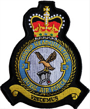 No. 2 Group HQ Royal Air Force RAF MOD Crest Embroidered Patch