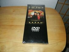 Hero Tall Box Dvd - Jet Li and Maggie Cheung - New In Factory Sealed Wrapper