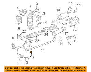 HONDA OEM Stabilizer Bar-Front-Stabilizer Link Nut 90212SA5003