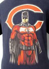 "CHICAGO BEARS NFL ""BATMAN"" Vintage T-Shirt (S/M) REEBOK"