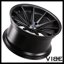 "20"" ROHANA RC10 20X10 BLACK CONCAVE WHEELS RIMS FITS AUDI B8 A5 S5"