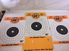 Miller High Life Paper Deer Target Lot of 95+ All Targets Are New Unused