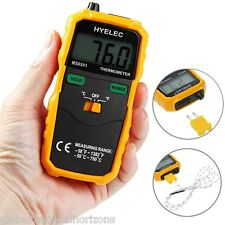 High Precision K Type Digital Stable Thermometer Temperature Testing Meter New