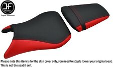 DSG 2 GRIP B RED VINYL CUSTOM FOR YAMAHA YZF 600 R6 99-02 FRONT REAR SEAT COVERS