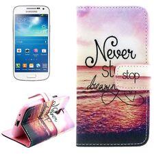 COVER CASE FLIP A LIBRO SAMSUNG GALAXY S4 MINI i9190 i9195 SMARTPHONE SG56