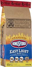 Kingsford Charcoal Briquettes in Easy Light Bag Single Use 2.8 Pound Pack of 2