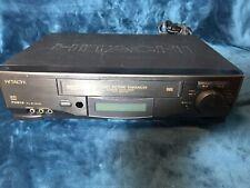 Hitachi Hi-Fi Stereo VHS Payer Recorder VCR+ Model VT-FX613A Tested