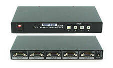 4x1 4:1 VGA RGBHV PC HDTV Video Selector Switcher w/ Remote (SVGA WUXGA) SB-4106