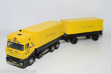LION CAR BASED DAF 3600 ATI SPACECAB SA-TRANS ASG TRUCK WITH TRAILER RARE
