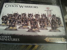 WARHAMMER AGE OF SIGMAR SLAVES TO DARKNESS CHAOS WARRIORS - NEW & SEALED