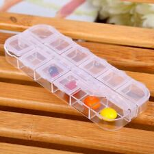 Travel Pill Case Portable Medicine Container Box Tablet Capsules Storage Holders