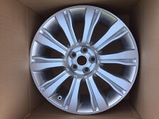 "Genuine Range Rover Evoque 19"" Style 103 Alloy Wheel Sparkle Silver NEW."