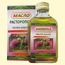 Aceite de cardo de leche 100% Producto natural prensado en frío Расторопша масло