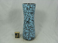 "Beautiful ""lave"" Glazed 70´s DESIGN SCHEURICH POTTERY Céramique Vase 206 27 cm"