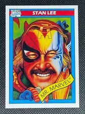 1990 Impel Marvel Universe Series 1 #161 Stan Lee RC Mint Centered PSA Ready