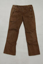 Cotton Cargos Loose Fit Low Rise Trousers for Women