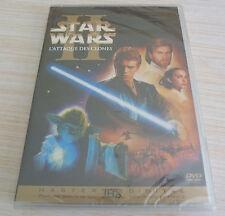COLLECTOR 2 DVD PAL FILM STAR WARS EPISODE II L'ATTAQUE DES CLONES NEUF ZONE 2