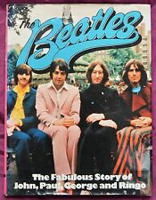 More details for the beatles the fabulous story of john, paul, george and ringo hardback 1975 1st