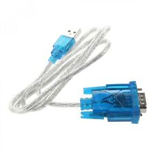 RS232 DB9 Male Adapter To USB 9 Pin Serial Cable W/ Driver CD Support Windows 10