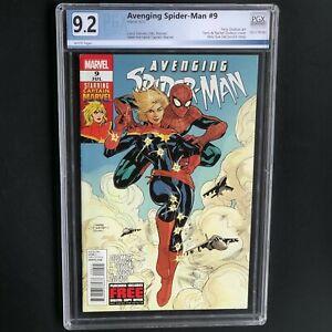 AVENGING SPIDER-MAN #9 💥 9.2 PGX 💥 1ST CAROL DANVERS as CAPTAIN MARVEL!