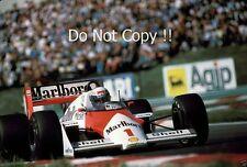 Alain Prost McLaren MP4/3 húngaro Grand Prix 1987 fotografía 1