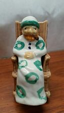 Norcrest? Novelty OLD MAN IN A ROCKING CHAIR Salt & Pepper -NMC. Made in Japan