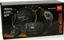 "JBL GTO609C 6.5"" 540 Watt 2-Way GTO Series Complete Component Car Speakers NEW"