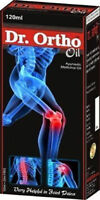 DR.ORTHO AYURVEDIC OILl 120ml FOR JOINT AND BACKACHE SPRAINS FREE SHIPPING