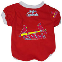 NEW ST. LOUIS CARDINALS PET DOG BASEBALL JERSEY ALTERNATE STYLE ALL SIZES