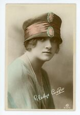 Real Photo postcard of movie star GLADYS COOPER