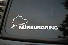 Nurburgring Race Track Vinyl Sticker Decal (V99) Germany Motorsports BMW Audi