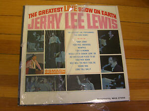 Jerry Lee Lewis - The Greatest LIVE show on earth- MGS 27056- Smash Records-1964
