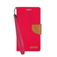 Leather Card Holder Wallet Flip Stand Case Cover With Strap For Apple Galaxy2 LG