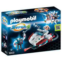 Playmobil Super 4 - 9003 - Skyjet con Dr. X y Robot - New and Sealed